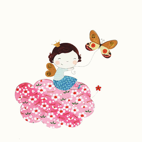 Matilde Portalés Illustration · Customized projects · New baby decor illustration · Bego´s dreams