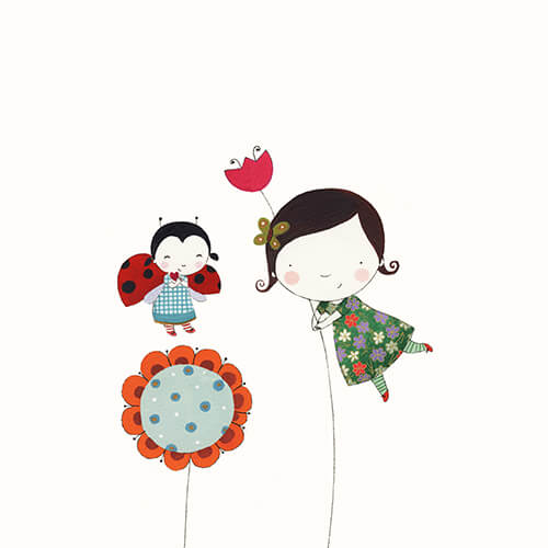 Matilde Portalés Illustration · Customized projects · New baby decor illustration · Martina´s dreams