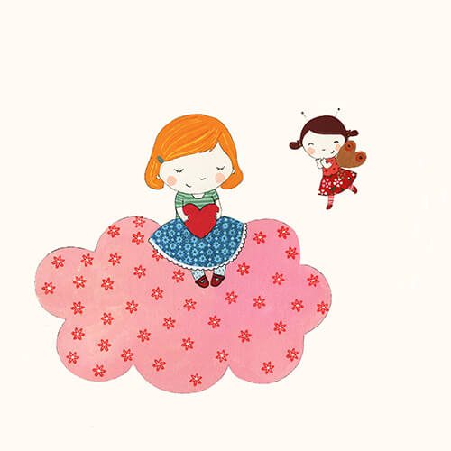 Matilde Portalés Illustration · Customized projects · New baby decor illustration · Sofia´s dreams