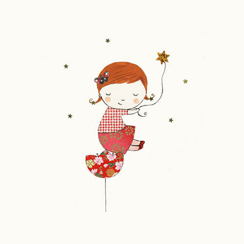 Matilde Portalés Illustration · Customized projects · Veronica´s little star