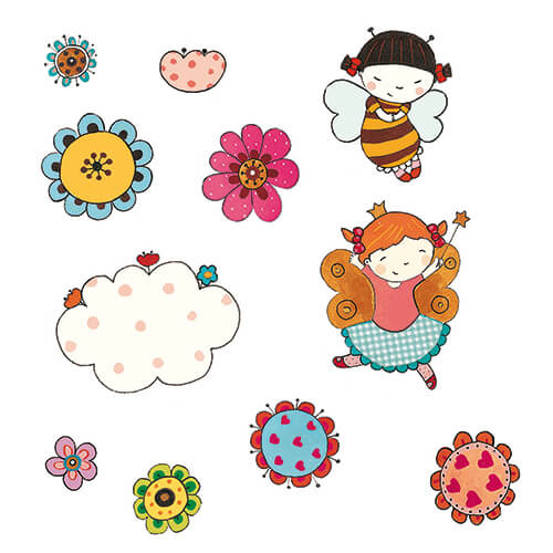 Matilde Portalés Illustration · Mini Bug 10 · Stickers Books · Imaginarium