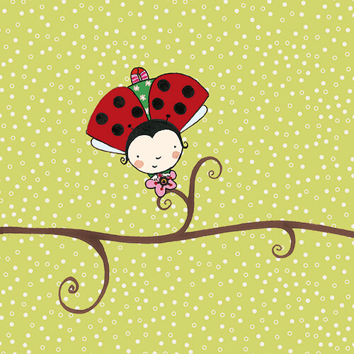 Matilde Portalés Illustration · Mini Bug 2 · Stickers Books · Imaginarium