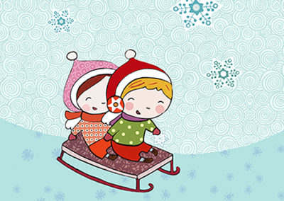 Stickers Books: Mini Xmas Star