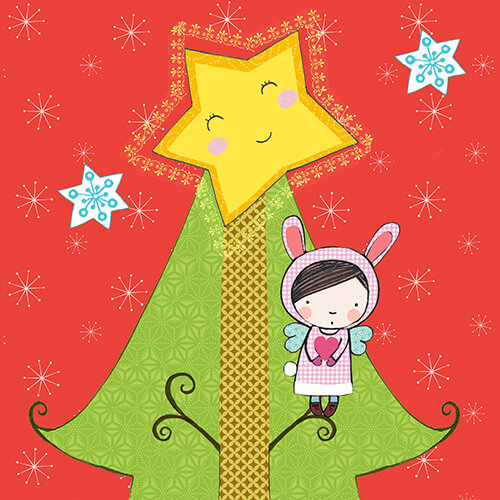 Matilde Portalés Illustration · Mini X´mas Tree 8 · Stickers Books · Imaginarium