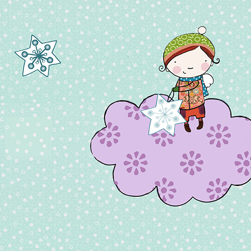 Matilde Portalés Illustration · Mini X´mas Star 1 · Stickers Books · Imaginarium