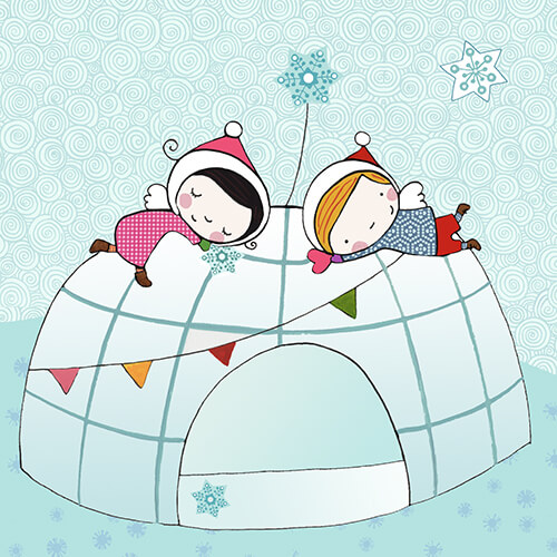 Matilde Portalés Illustration · Mini X´mas Star 2 · Stickers Books · Imaginarium