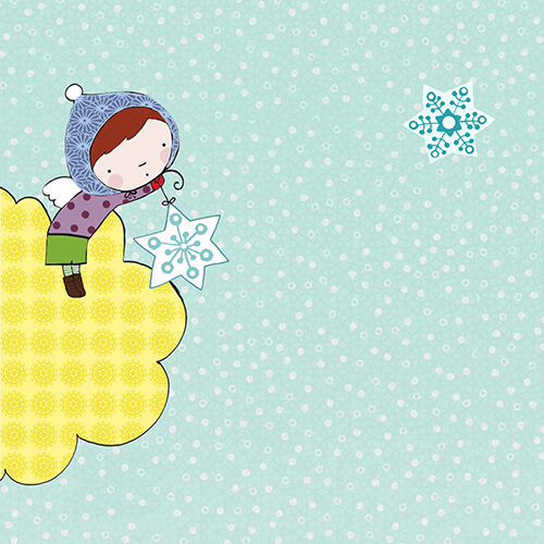 Matilde Portalés Illustration · Mini X´mas Star 4 · Stickers Books · Imaginarium