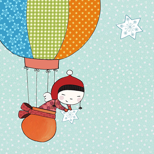Matilde Portalés Illustration · Mini X´mas Star 7 · Stickers Books · Imaginarium